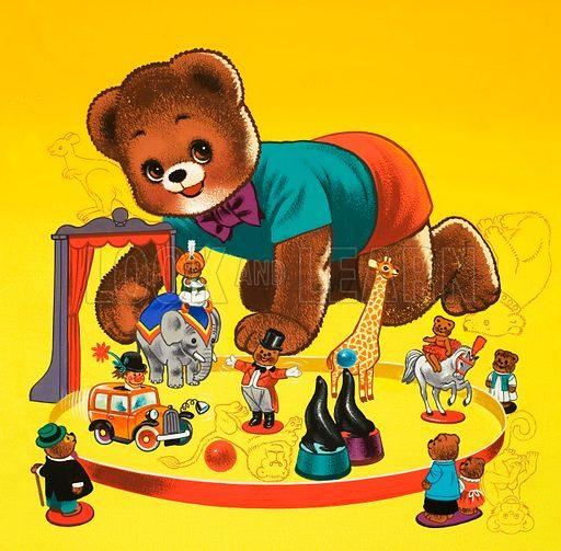 Teddy Bear. From Teddy Bear (3 January 1970).