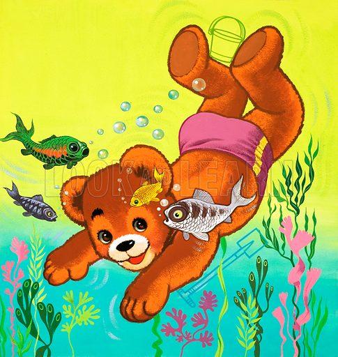Teddy Bear. From Teddy Bear (1 August 1964).