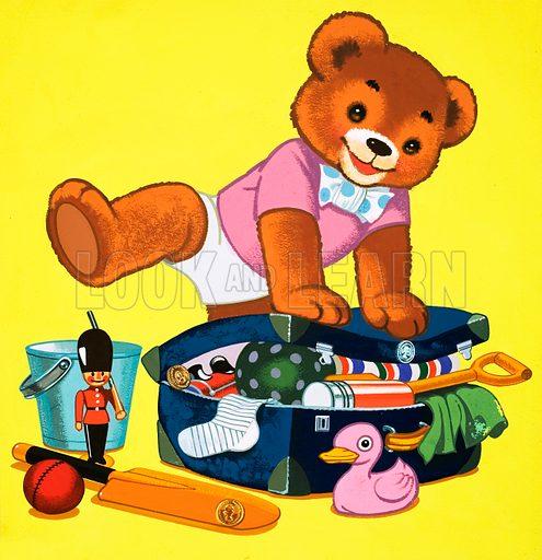 Teddy Bear. From Teddy Bear (25 July 1964).
