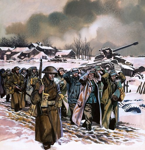 picture, Ardennes Offensive, Battle of the Bulge