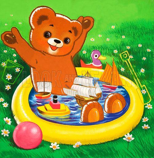 Teddy Bear. From Teddy Bear (5 June 1965).