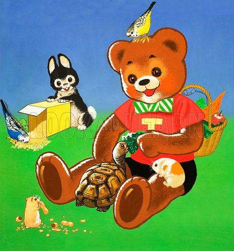 Teddy Bear. From Teddy Bear (19 June 1965).