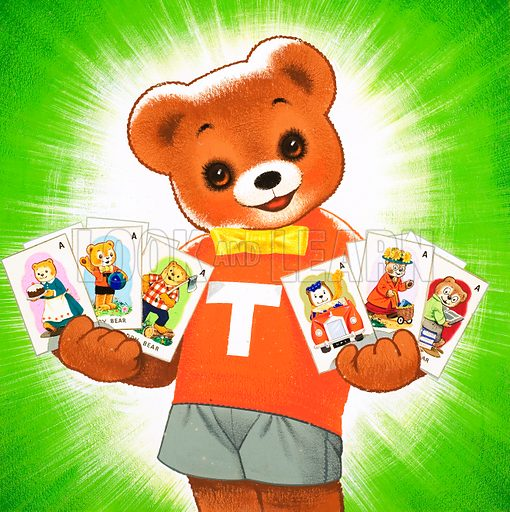 Teddy Bear. From Teddy Bear (19 March 1966).