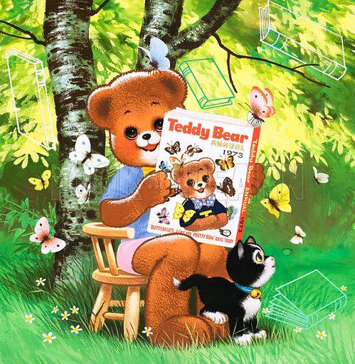 Teddy Bear. From Teddy Bear (7 October 1972).