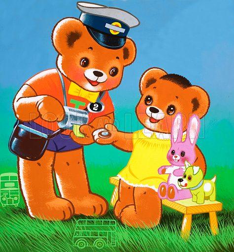 Teddy Bear. From Teddy Bear (dated 24 July [year unknown]).
