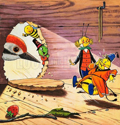 Gregory Grasshopper. From Jack & Jill Annual 1981.