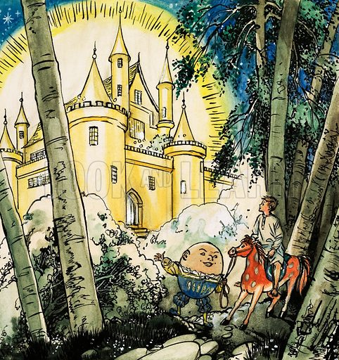 Unidentified fairy story. Original artwork from Teddy Bear Holiday Special.