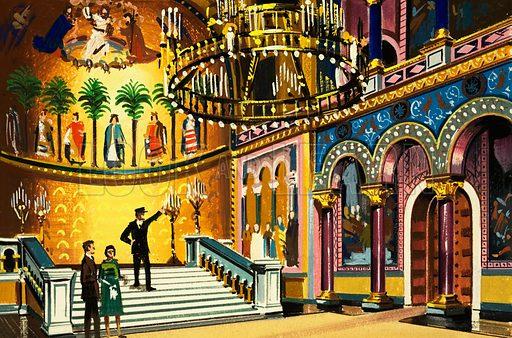 Theatre. Original artwork.