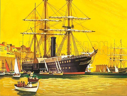 RMS Trent.