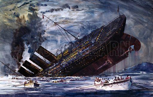 Sinking of the Titanic, 1912