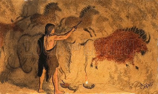 Cave painters.