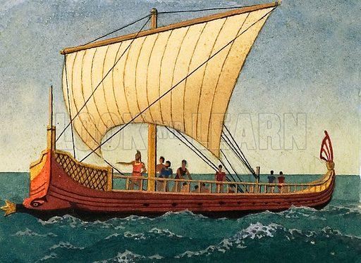 Greek ship.