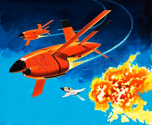 Into the Blue: the radio-controlled Firebee drone.