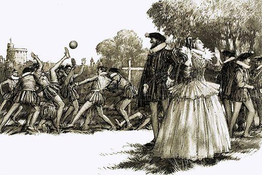 Queen Elizabeth I was horrified by the brutish sport