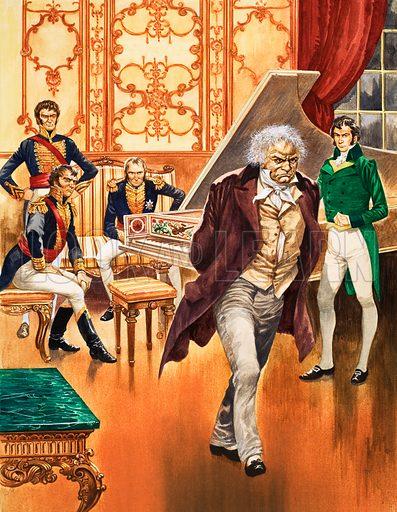 German composer Ludwig van Beethoven, 1806