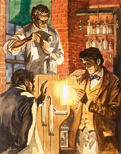 Lighting Up the Night. Thomas Edison and Joseph Swan create the electric light.