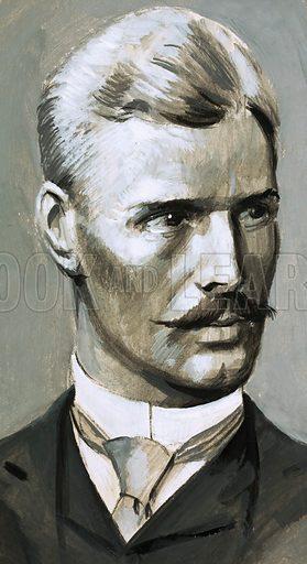 picture, Brooklands' founder Hugh Locke-King