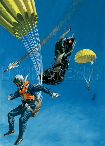 Canopy of Life. Parachutes and ejector seats.