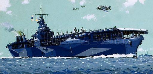 USS Ranger.