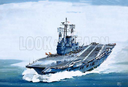The Ark Royal.