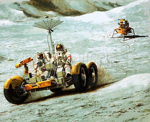 Lunar transport.