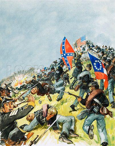 The Battlefield at Gettysburg.