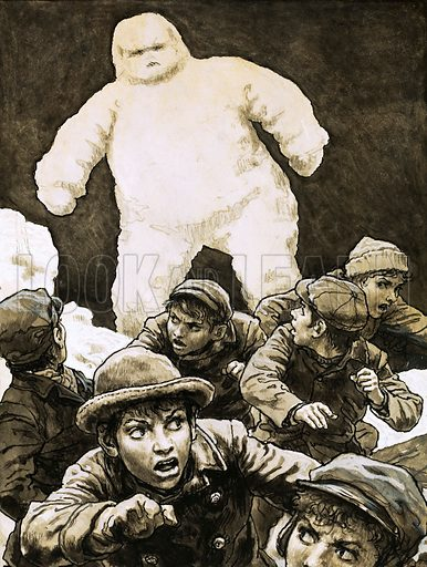 Historical Articles And Illustrations Blog Archive The Living Snowman Of Grindstone Island