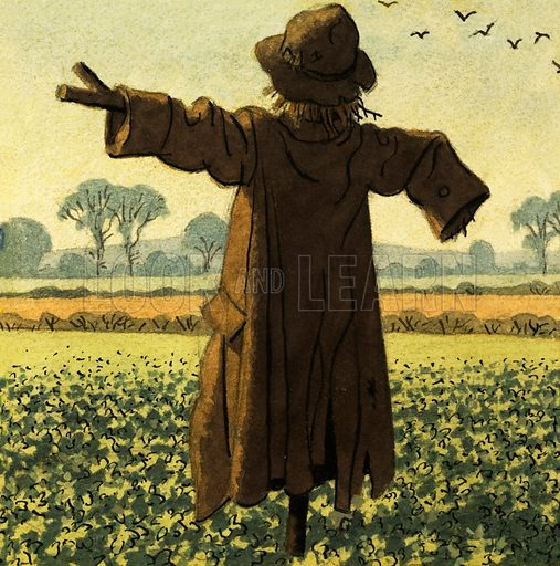 Scarecrow. Original artwork for L&L 1001 Book.