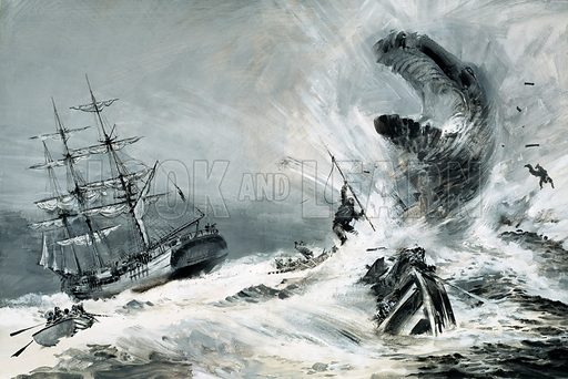 Was there really a mysterious monster terrorising the world's oceans?