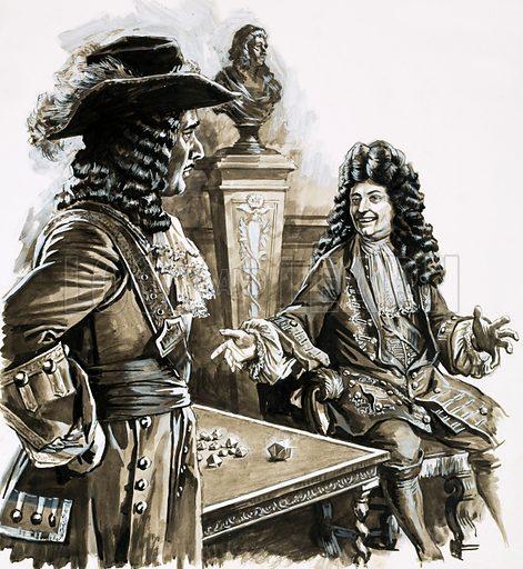 Louis XIV, picture, image, illustration