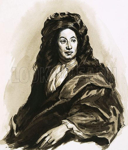 Unidentified 17th century portrait.