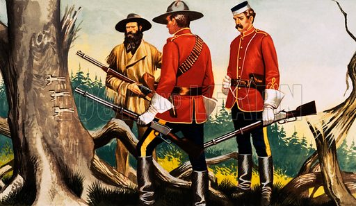 Canadian mounties (?).