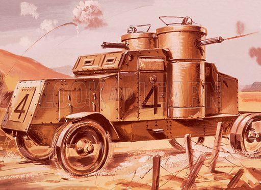 Early tank.