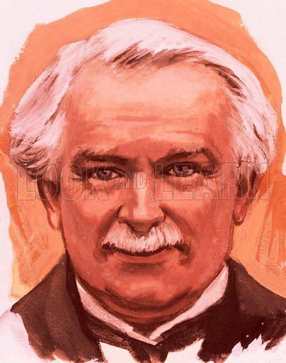 Portrait of Lloyd George.