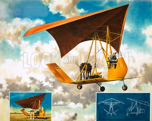 Early flying machine.