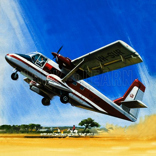Modern Marvels: The All-Purpose Nomad. Twin-engined Nomad short take-off plane.