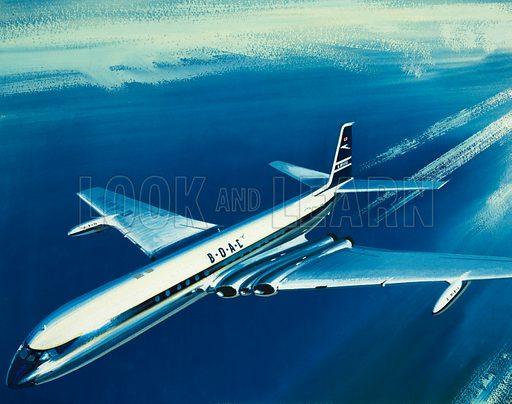 BOAC aircraft.