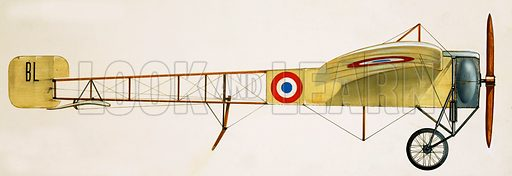 Early military aircraft.