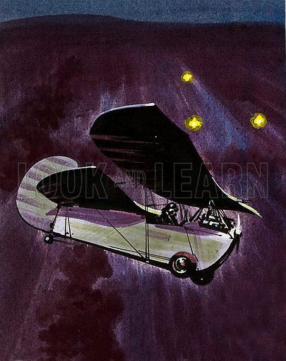 Into the Blue: The Flying Flea. Henri Mignet's invention the Pou de Ciel ('louse of the sky'… or flying flea).