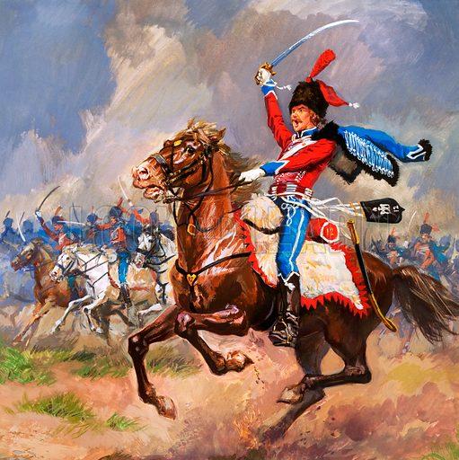Dashing Hussars.