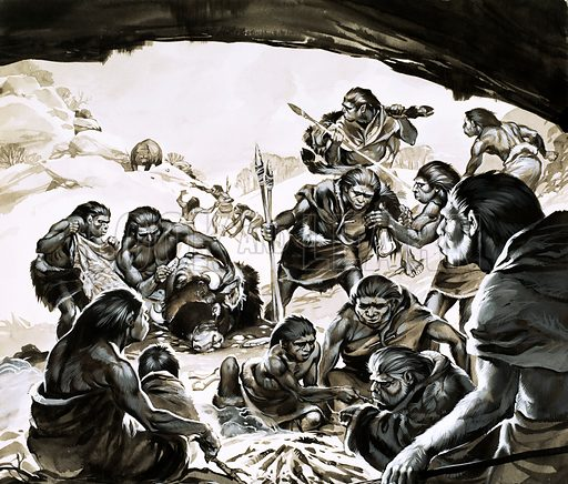 Cavemen of the Cold Spell.