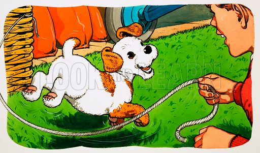 Paddy Paws. Original artwork for Jack and Jill (24 October 1981).