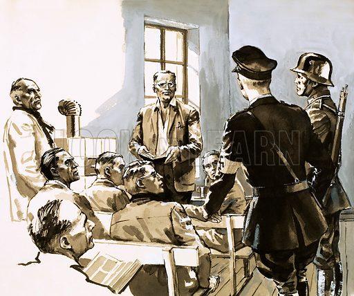Dietrich Bonhoeffer, picture, image, illustration