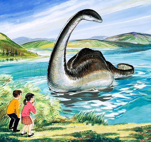 The Loch Ness Monster.