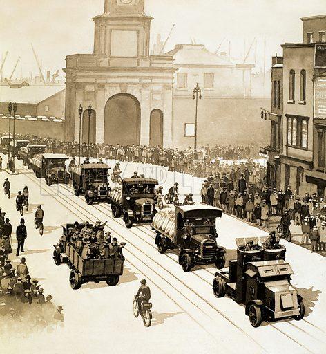 General Strike, picture, image, illustration