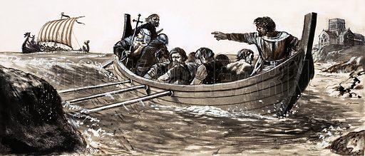 Saint Malo, picture, image, illustration