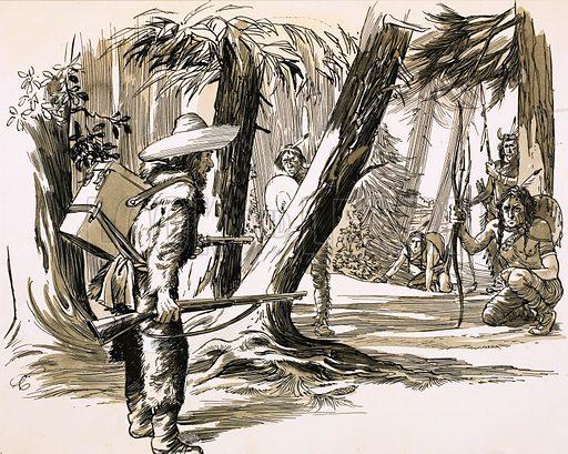 David Douglas,  picture, image, illustration