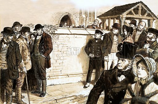 Tolpuddle martyrs, picture, image, illustration