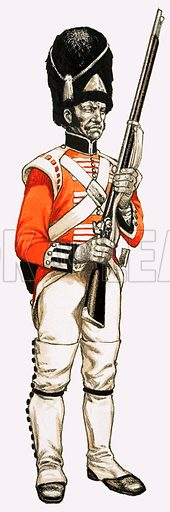 92nd. Foot Grenadier 1815.