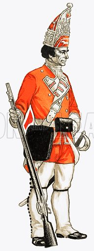 92nd. Foot Grenadier 1751.